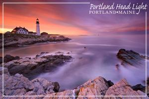 Portland, Maine - Portland Head Light by Lantern Press