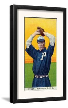 Portland, OR, Portland Pacific Coast League, Steen, Baseball Card by Lantern Press