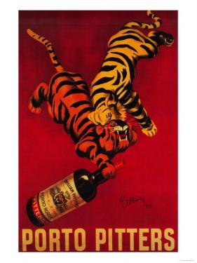 Porto Pitters Vintage Poster - Europe by Lantern Press