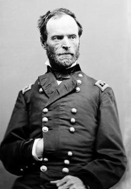 Portrait of William Sherman, Civil War by Lantern Press