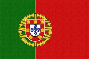 Portugal Country Flag - Letterpress by Lantern Press