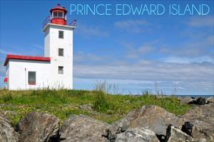 Prince Edward Island - Caribou Lighthouse by Lantern Press