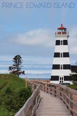 Prince Edward Island - Cedar Dunes Lighthouse by Lantern Press