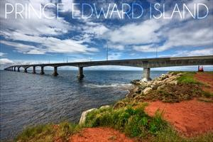 Prince Edward Island - Confederation Bridge by Lantern Press