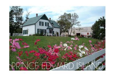 Prince Edward Island - Green Gables House and Gardens by Lantern Press