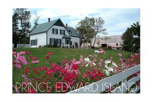Prince Edward Island - Green Gables House and Gardens by Lantern Press
