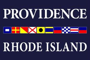 Providence, Rhode Island - Nautical Flags by Lantern Press