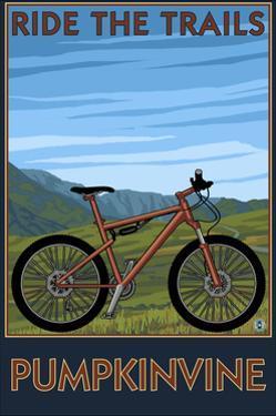 Pumpkinvine - Indiana - Ride the Trails by Lantern Press