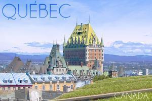 Quebec, Canada - Chateau Frontenac by Lantern Press