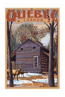 Quebec, Canada - Sugar Shack by Lantern Press