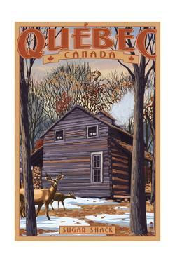 Quebec, Canada - Sugar Shack by Lantern Press
