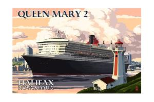 Queen Mary 2 - Halifax, Nova Scotia by Lantern Press