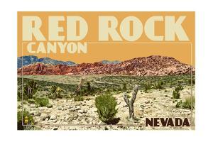 Red Rock Canyon - Las Vegas, Nevada by Lantern Press