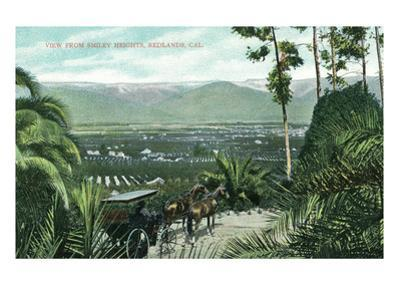 Redlands, California - View from Smiley Heights
