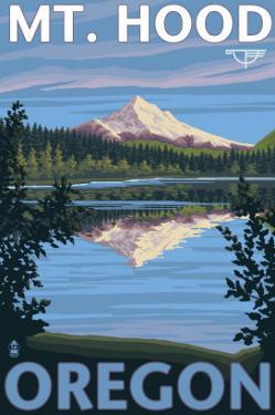 Reflection Lake - Mt. Hood, Oregon, c.2009 by Lantern Press