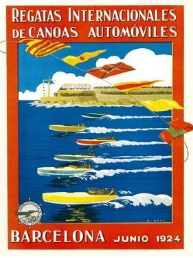 Regatta Internacionales De Canoas Promotion by Lantern Press