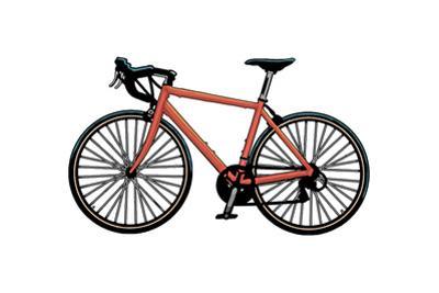 Road Bike - Icon by Lantern Press