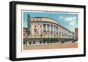 Rochester, New York - Exterior View of Eastman Theatre and School of Music by Lantern Press