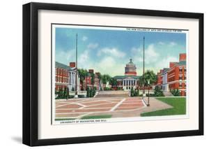 Rochester, New York - University of Rochester College of Arts & Sciences View by Lantern Press