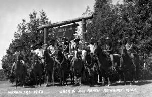 Rothbury, Michigan - Wranglers at the Jack and Jill Ranch by Lantern Press