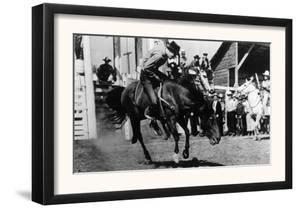 Rough Going at the Ellensburg Rodeo - Ellensburg, WA by Lantern Press