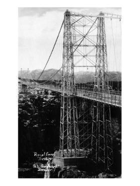 Royal Gorge, Colorado - Royal Gorge Bridge by Lantern Press