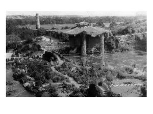 San Antonio, Texas - Sunken Garden by Lantern Press