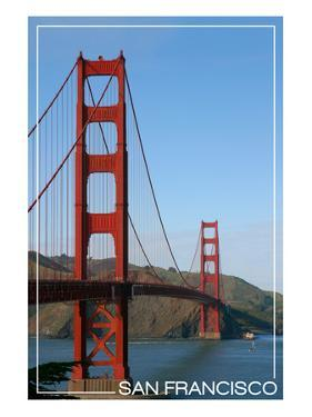 San Francisco, California - Golden Gate Bridge Day by Lantern Press