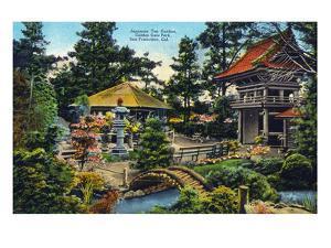San Francisco, California - Golden Gate Park Japanese Tea Garden by Lantern Press
