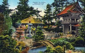 San Francisco, California - Golden Gate Park Japanese Tea Garden by Lantern Press