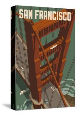 San Francisco - Golden Gate Bridge by Lantern Press