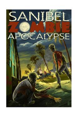 Sanibel, Florida - Zombie Apocalypse by Lantern Press