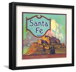 Santa Fe Orange Label - Redlands, CA by Lantern Press