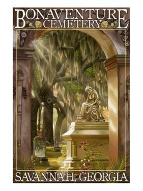 Savannah, Georgia - Bonaventure Cemetery by Lantern Press