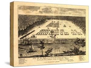 Savannah, Georgia - Panoramic Map by Lantern Press