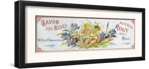 Savon Des Bebes Soap Label - Paris, France by Lantern Press
