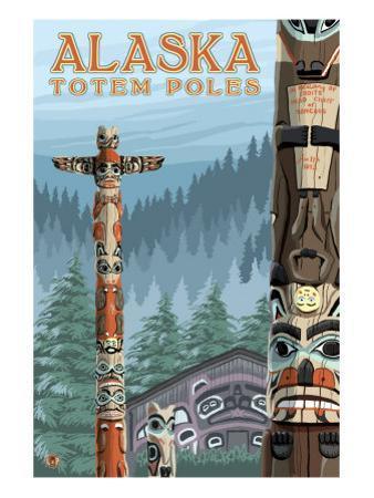 Saxman Totem Village, Ketchikan, Alaska
