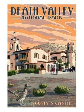 Scotty's Castle - Death Valley National Park by Lantern Press