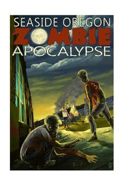 Seaside, Oregon - Zombie Apocalypse by Lantern Press