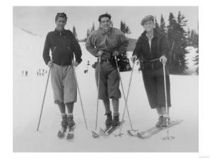 Seattle Ski Club at Silver Skis Race Photograph - Seattle, WA by Lantern Press
