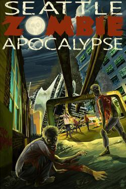 Seattle Zombie Apocalypse by Lantern Press