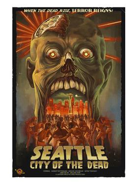 Seattle Zombies - City of the Dead by Lantern Press