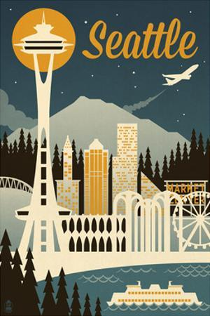 Seattle by Lantern Press