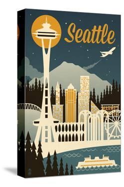 Seattle by Lantern Press