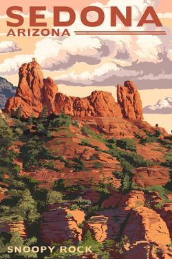 Sedona, Arizona - Snoopy Rock by Lantern Press