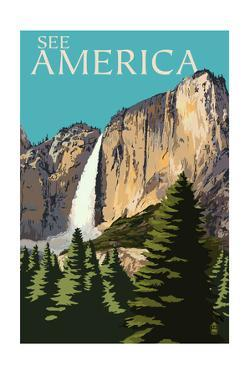 See America - National Park WPA Sentiment by Lantern Press