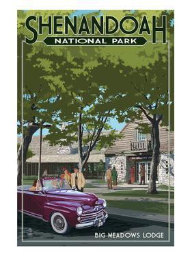Shenandoah National Park, Virginia - Big Meadows Lodge by Lantern Press