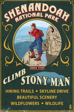 Shenandoah National Park, Virginia - Climb Stony Man by Lantern Press
