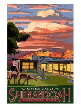 Shenandoah National Park, Virginia - Skyland Resort by Lantern Press