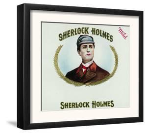 Sherlock Holmes Brand Cigar Box Label by Lantern Press